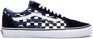 Vans Old Skool Checkerboard Flame Blue