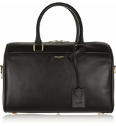 Saint Laurent Classic Duffle 6 Leather Bag - Black