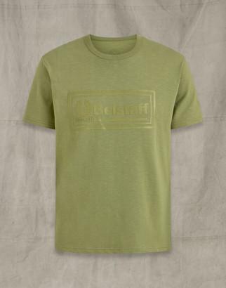 Belstaff FRAME LOGO GRAPHIC T-SHIRT Green
