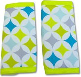Nuby Reversible Strap Cover, Blue, Green, Grey, White