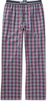 HUGO BOSS Checked Cotton-Poplin Pyjama Trousers