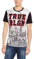 True Religion Men's Block Party T-Shirt