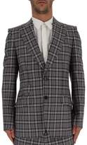 Gucci Two-Button Check Blazer