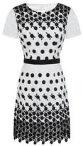 Dorothy Perkins Womens Chi Chi London White Lace Bodycon Dress, White