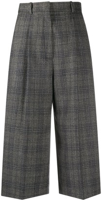 Sandro Anthe tailored cropped trousers