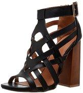 Qupid Women's BOOGIE-01 Gladiator Sandal