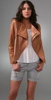 Barlow Leather Moto Jacket