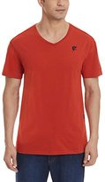 G Star Men's Odyno Short Sleeve V-Neck Tee In Compact Jersey