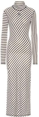 Loewe Striped cotton maxi dress