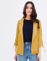 Dorothy Perkins Tie Sleeve Jacket