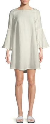Rachel Pally Aemon Linen-Blend A-Line Dress