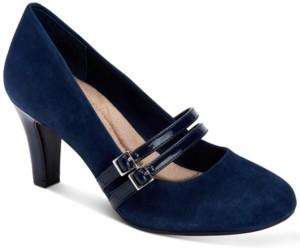 Giani Bernini Vallariaa Memory-Foam Dress Pumps, Created For Macy's Women's Shoes