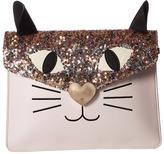 Betsey Johnson Cat Clutch