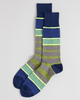 Paul Smith Twisted Neon Socks