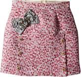 Dolce & Gabbana Pink Jacquard Skirt (Big Kids)