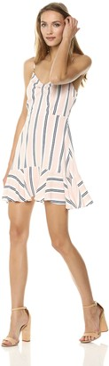 BB Dakota Women's Hollie Striped Shift Dress