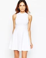 Asos High Neck Empire Dress