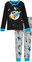 Petit Lem Astronaut in Space Long Sleeve Pajama Set (Toddler & Little Boys)