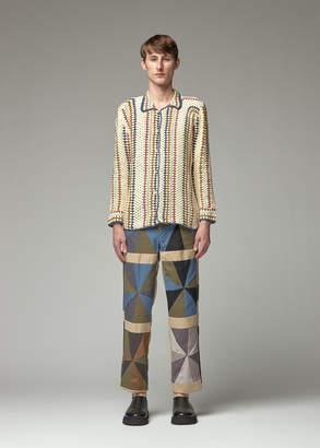 Bode Crochet Overshirt