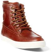 Polo Ralph Lauren Tynedale Oiled Leather Sneaker