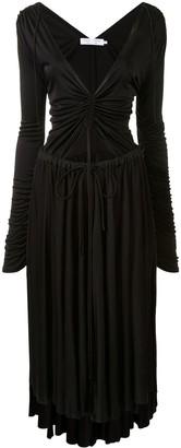 Proenza Schouler White Label asymmetric V-neck midi dress