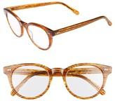 Corinne McCormack Women's Abby 50Mm Reading Glasses - Orange
