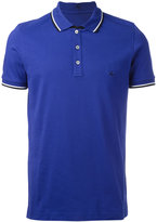Fay embroidered logo polo shirt - men - Cotton/Spandex/Elastane - S
