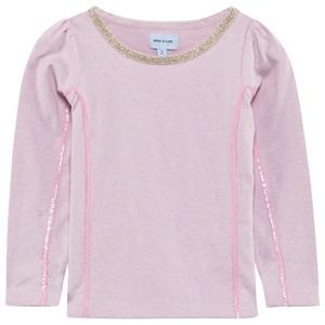 Mini A Ture Mini-A-Ture Pale Pink Embellished Tee