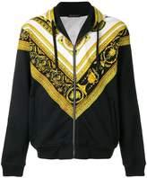 Versace Cornici print hoodie