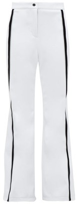 Fendi Roma Striped Technical-shell Ski Trousers - Womens - White