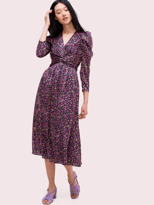 Kate Spade marker floral devore dress