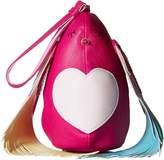 Betsey Johnson Bird Is The Word Wristlet Wristlet Handbags