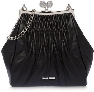 Miu Miu Matelasse Clutch Bag