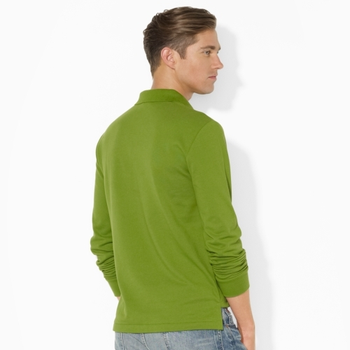 Polo Ralph Lauren Slim-Fit Long-Sleeved Polo