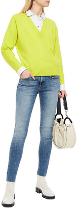 Rag & Bone Kate Distressed Mid-rise Skinny Jeans