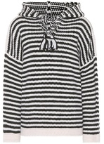 See by Chloe Striped wool hoodie