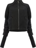 Ilaria Nistri elongated sleeve zipped sweater