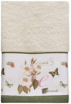 Creative Bath Botanical Diary Cotton Border-Print Hand Towel