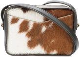 Derek Lam 10 Crosby top zip crossbody bag - women - Leather/Pony Hair - One Size