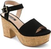 Kensie Platform Suede Sandals - Cathryn