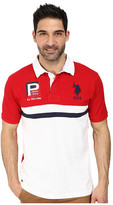 U.S. Polo Assn. Cotton Pique Color Block Polo