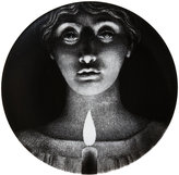 "Fornasetti Woman's Face With Candle"" Plate"