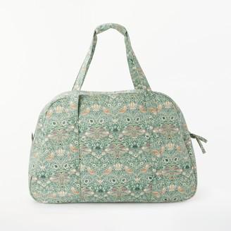 John Lewis & Partners Strawberry Thief Print Sewing Machine Bag, Aqua