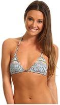 Mara Hoffman Rainbow Spandex Sliding Bikini Top (Spandex Rainbow Mint) - Apparel