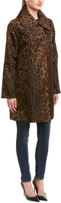 Jane Post Leopard Coat