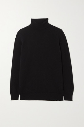 &Daughter Casla Cashmere Turtleneck Sweater - Black