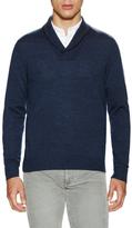 Wool Shawl Collar Sweater