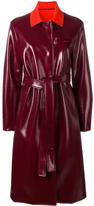 Emilio Pucci belted trench coat