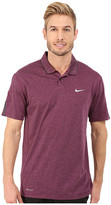 Tiger Woods Golf Apparel by Nike Nike Golf Kimono Heather Mesh Polo Shirt