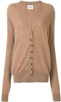 KHAITE Fine-Knit Buttoned Cardigan